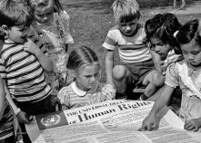 1948年聯大通過《世界人權宣言》