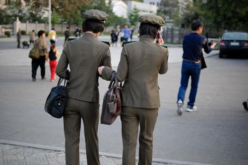 朝鲜市民生活照