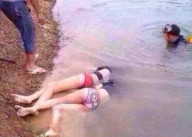 年轻女孩喝醉酒被溺死
